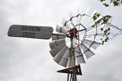 10-foot Southern Cross Z pattern windmill; Jondaryan Woolshed Museum, Queensland, Australia. (sarracenia.flava) Tags: southern cross windmill jondaryan woolshed museum queensland australia z pattern
