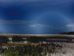 Coonarr Creek [Bundaberg Australia] (Dreaming of the Sea) Tags: sliderssunday hss fujifilmxp150 coonarrbeach gimp sky sand sea surf water clouds bundaberg bluesky queensland australia mangrovetree 2019