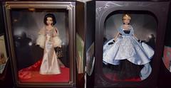 Snow White and Cinderella Premiere Series Dolls - Disney Designer Collection (drj1828) Tags: premiereseries disneydesignercollection snowwhite cinderella 2018