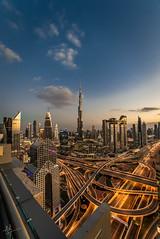 Hello, Dubai! (ashpmk) Tags: dubai uae emirates emirate burj khalifa burjkhalifa burjalarab tallest worldstallest cityscape city citylife cityview middleeast sharjah abudhabi longexposure longexpo
