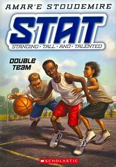 Double Team (Vernon Barford School Library) Tags: amare stoudemire stat 2 two second series sports basketball africanamericans boys autobiography autobiographical autobiographicalfiction friendship nba newyorkknicks standingtallandtalented vernon barford library libraries new recent book books read reading reads junior high middle vernonbarford fiction fictional novel novels paperback paperbacks softcover softcovers covers cover bookcover bookcovers 9780545387606 amarestoudemire fastpick fastpicks fast pick picks