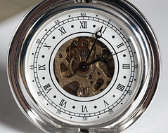 A pocket watch, cogs and all. (alisonhalliday) Tags: macromondays timepieces sigma105mm watch canoneos77d macro