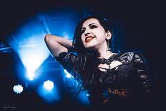 Sirenia @Randal, Bratislava (ajkabajka) Tags: concert concerts concertphoto concertphotography music live metal musician sirenia stage female singer woman metalgirl gothic
