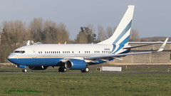 N108MS Boeing BBJ Las Vegas Sands Corp. (Anhedral) Tags: n108ms boeing bbj 737700 lasvegassandscorp corporate einn snn shannonairport 33102