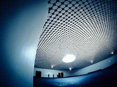 Amos Rex (miemo) Tags: amosrex europe finland samyang75mmf35 architecture artmuseum ceiling circles em5mkii exhibition fisheye helsinki interior museum olympus omd skylight wideangle uusimaa fi