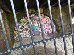 Unity, Cardiff (DJLeekee) Tags: unity nationa womensday graffiti cardiff streetart homeless