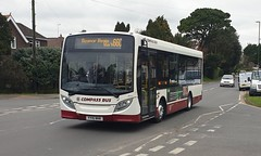 Compass Bus YY15 NHK Barnham 21/3/19 (jmupton2000) Tags: yy15nhk alexander dennis enviro 200 dart compass bus travel worthing sussex