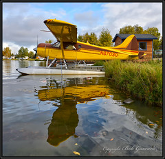 N67030 Private Owner (Bob Garrard) Tags: n67030 de havilland canada dhc2 beaver mk 1 lakehoodseaplanebase anchorage alaska us army l20a 582040 lhd palh