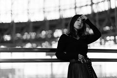 Risa Hoshi (iLoveLilyD) Tags: a7r3 portrait emount ilce7rm3 85mm sony mirrorless gmlens felens ilovelilyd gm vscofilm01 kodaktrix400 f14 fullframe sel85f14gm primelens α gmaster 2018 bw α7riii tokyo japan 東京都 日本 jp
