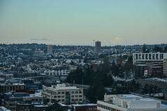 Seattle Snowmageddon 2019 17 (C.M. Keiner) Tags: seattle washington usa city cityscape skyline mountains pacific northwest puget sound snow blizzard winter storm urban
