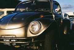 Golden Hour (mattt1970) Tags: nikonf2a kodakgold200 nikkor50mmf12ais 35mm analog film bug volkswagen vw