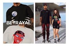 Jamey Jersey @ THE GALLERIA MALL (Rhuigi Bourne) Tags: betrayal betrayalsl jamey jersey cotton designer supreme streetwear womenswear menswear read to wear rtw