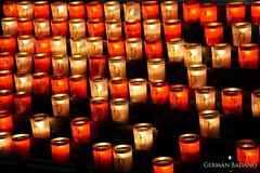 Candles (geba02) Tags: candle candles vela velas iglesia church pray museo vaticano museum vatican roma rome italia italy europa europe viaje travel art arte contraste contrast ciudad city red rojo color colour black negro noche night