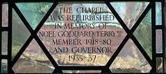 [73631] York : Merchant Adventurers Hall Chapel - South Window (Budby) Tags: york northyorkshire hall guild gild window stainedglass chapel church