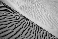 Half dune (s_andreja) Tags: spain grancanaria maspalomas dunas dunes desert sand half curves bw
