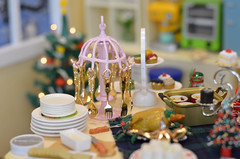 The fancy kitchenware for guests... (Moonrabbit_ly) Tags: rement miniature kitchenware dollhouse diorama onesixth