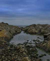 Rhosneigr (robwhite3) Tags: rhosneigr beach northwales rocks coast anglesy sea water rockpool