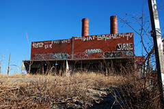 Echo Lake Incinerator 1.27.19.15 (jrbeckwith) Tags: echolakeincinerator 2019 photo picture jr beckwith jbeckr fortworth texas tx echo lake incinerator endangered danger old history historic abandoned left decay drug drugdealer graffiti girls shoot ruins