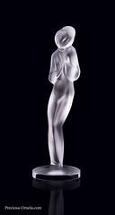 PRECIOSA_27228_statuette Shy Girl (PRECIOSA ORNELA) Tags: preciosaornela desna since 1847 decorative traditionalczechglass glass figurine statuette hand made ashtray devotional