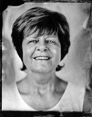 Linda (fitzhughfella) Tags: wetplate tintype tinplate collodion ether silvernitrate largeformat 5x4 graflexspeedgraphic kodakaeroektar darkroom vintage portrait