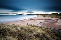 Dull Dawn at Embleton (Chris Lishman) Tags: longexposure coast northumberland embletonbeach embleton dunstanburgh dunstanburghcastle sea leefilters singhrayfilters