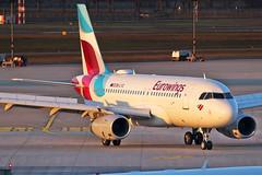 Airbus A319-132 - OE-LYZ - HAJ - 18.02.2019 (1) (Matthias Schichta) Tags: haj eddv hannoverlangenhagen planespotting flugzeugbilder airbus a319100 eurowings oelyz