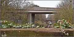 A bridge too many? (Colin Partington) Tags: 20190313 chester cheshire christleton drs 88004 88006 6k41 nuclear
