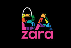 bazara (xpdesigner) Tags: shoping bag multicolor modern ecommerce logo minimal colorful