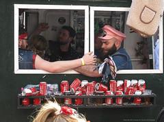 IMG_0048 copie (renaud.bierent) Tags: char carnaval tournai boys gaypride canettes bière rouge casquette bagues ren bee belgique amitié virile men jupiler red devils cup beer friends happy truck