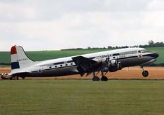 1946 Douglas DC-4-1009 PH-DDS - Dutch Dakota Association - Flying Legends 1998 - Duxford (anorakin) Tags: 1946 douglas dc4 phdds dutchdakotaassociation flyinglegends 1998 duxford