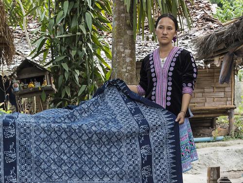 B25A1240 Hill Tribe Resident - Chiang Mai, Thailand