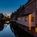 Appingedam, de beroemde hangende keukens boven het Damsterdiep