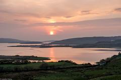 Connemara sunset (Donard850) Tags: connemara countymayo ireland clouds reflections sea sunset