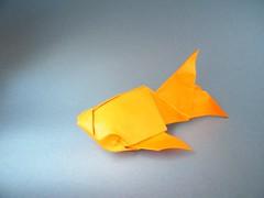 Pez dorado - Ángel Morollón (Rui.Roda) Tags: origami papiroflexia papierfalten fish goldfish poisson peixe dourado pez dorado ángel morollón