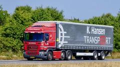 AM20658 (18.07.03, Motorvej 501, Viby J)DSC_3981_Balancer (Lav Ulv) Tags: 254298 scania gseries scaniagseries pgrseries g410 khansentransport curtainside planentrailer gardintrailer 2014 highline e6 euro6 6x2 red kronetrailer truck truckphoto truckspotter traffic trafik verkehr cabover street road strasse vej commercialvehicles erhvervskøretøjer danmark denmark dänemark danishhauliers danskefirmaer danskevognmænd vehicle køretøj aarhus lkw lastbil lastvogn camion vehicule coe danemark danimarca lorry autocarra danoise vrachtwagen motorway autobahn motorvej vibyj highway hiway autostrada trækker hauler zugmaschine tractorunit tractor artic articulated semi sattelzug auflieger trailer sattelschlepper vogntog oplegger sættevogn
