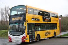 Bus Eireann VWD42 (151C7159). (Fred Dean Jnr) Tags: volvo b5tl buseireann vwd42 151c7159 tower cork january2019 wrap todayfm wright wrightbus buseireannroute215 eclipse gemini3 alloverad