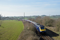 Diverted FGW/GWR HST between Whimple and Feniton (philwakely) Tags: hst highspeedtrain class43 class253 intercity125 ic125 intercity gwr greatwesternrailway greatwestern firstgreatwestern fgw first diesel dieselmultipleunit dmu locomotive trains train railway railways rail