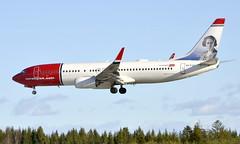 Norwegian EI-FJY, OSL ENGM Gardermoen (Inger Bjørndal Foss) Tags: eifjy norwegian 737 osl engm gardermoen