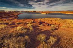 Lake Powell (dyfuzor 1) Tags: lake powell arizona nikon sky blue clouds water rocks sand landscape tamron