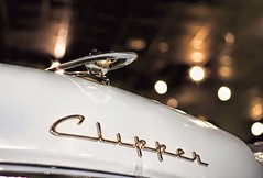 Packard Clipper (~ Liberty Images) Tags: packard clipper classiccar hoodornament automobile blue packardmuseum ohio libertyimages chromeography oldcar americana 1955