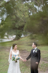 DSC07231 (Ted Foto) Tags: brideandgroom love light realwedding green wedding sydneywedding