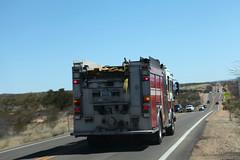 Verde Valley Fire District (twm1340) Tags: fire engine siren emergency cornville road az verdevalley district e311 vvfd