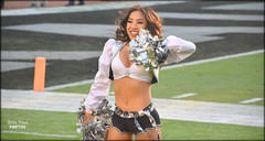 2018 Oakland Raiderette Allison (billypoonphotos) Tags: chargers 18140 18140mm field stadium 2018 grass sign sport billypoonphotos dancers coliseum people team squad women ladies girls pretty photographer photography picture photo black silver billypoon lens mm nikkor d5500 nikon dancer dance cheerleading cheerleaders females fabulous football nfl raidernation nation raider raiderettes raiderette raiders oakland allison