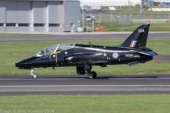 XX324 - 1980 build Hawker Siddeley Hawk T.1A, arriving on Runway 30 at Prestwick (egcc) Tags: 324 168 41h312149 736nas egpk hawk hawkt1a hawkersiddeley jw191 jointwarrior jointwarrior191 lightroom pik prestwick rn royalnavy xx324