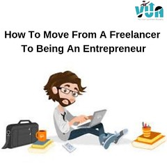 How To Move From A Freelancer To Being An Entrepreneur? (Vision Upliftment Academy) Tags: digitalmarketing seo smo socialmedia entrepreneur startup learn new course class training certification google cybersecurity
