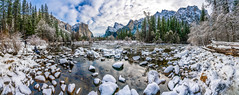 Yosemite Valley View Merced River Multi Shot Lightroom Stitched Panorama! National Park Sony A7R III California Fine Art Winter Landscape Nature Photography! High Res 4k 8K Photography! McGucken Sony FE 16–35 mm G Master Wide-Angle Zoom Lens! Sony A7R 3 (45SURF Hero's Odyssey Mythology Landscapes & Godde) Tags: yosemite national park sony a7r iii california fine art winter landscape nature photography high res 4k 8k dr elliot mcgucken wild np fe 16–35 mm g master wideangle zoom lens 3