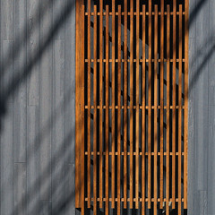 Lines and shadows (Tim Ravenscroft) Tags: lines wall screen siding shadows architecture kyoto japan hasselblad hasselbladx1d