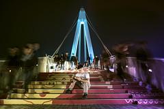 (kchenry858) Tags: night nightshot travel man taiwan taipei 漁人碼頭 淡水