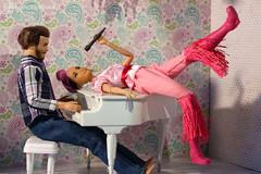 i do, i do, i do (photos4dreams) Tags: dress barbie mattel doll toy photos4dreams p4d photos4dreamz barbies girl play fashion fashionistas outfit kleider mode puppenstube tabletopphotography diorama scenes 16 canoneos5dmark3 rosa hair rose haar