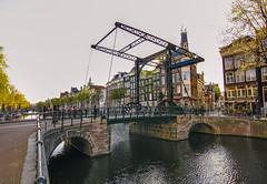 Bridges of Amsterdam. (By Hayan) Tags: amsterdam holland bridge river travel